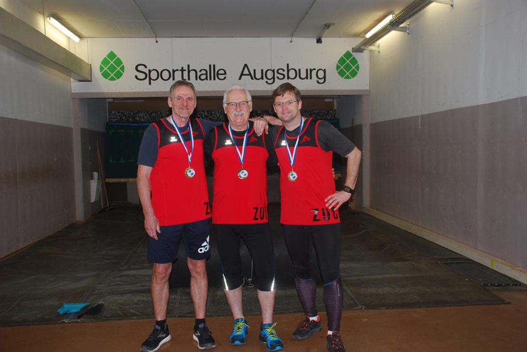 Medaillengewinner Steinstossen 2020